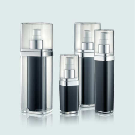 Airless Pump Bottle Black Set PW-202217A