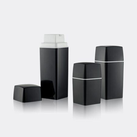 Airless Pump Bottle Black Set PW-206207AB