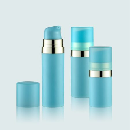 Airless Pump Bottle Blue Set PW-201202A