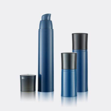 Airless Pump Bottle Blue Set PW-202201A