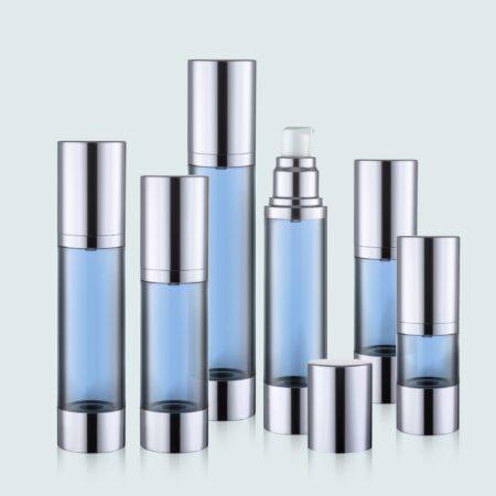 Airless Pump Bottle Blue Set PW-202202A