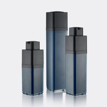 Airless Pump Bottle Blue Set PW-202208A