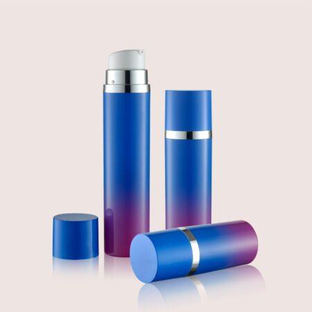 Airless Pump Bottle Blue Set PW-202227A