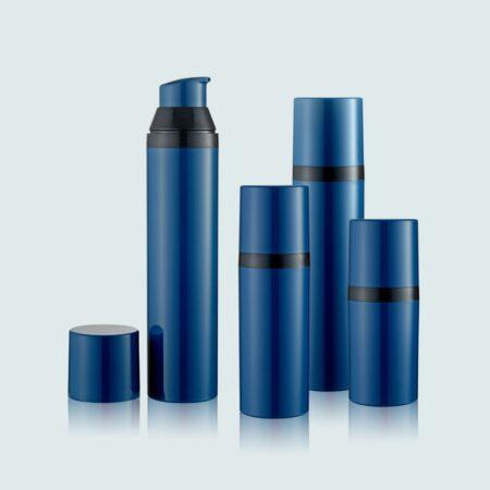 Airless Pump Bottle Blue Set PW-206208A