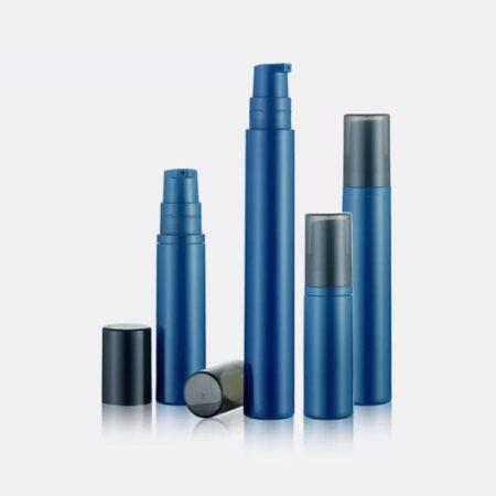 Airless Pump Bottle Blue Set PW-201201A