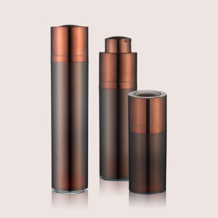 Airless-Pump Bottle Brown Set PW-202210ABCD