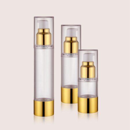 Airless Pump Bottle Gold Set PW-202202B