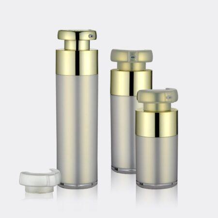 Airless Pump Bottle Gold Set PW-202221AB