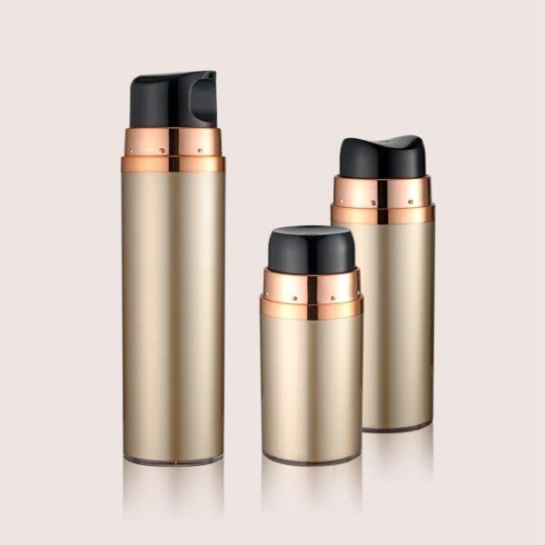 Airless Pump Bottle Gold Set PW-206201ABC