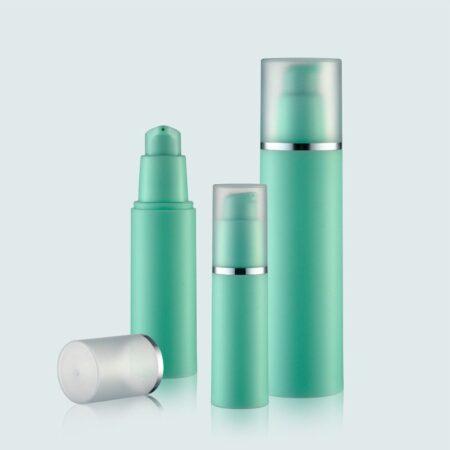Airless Pump Bottle Green Set PW-202229