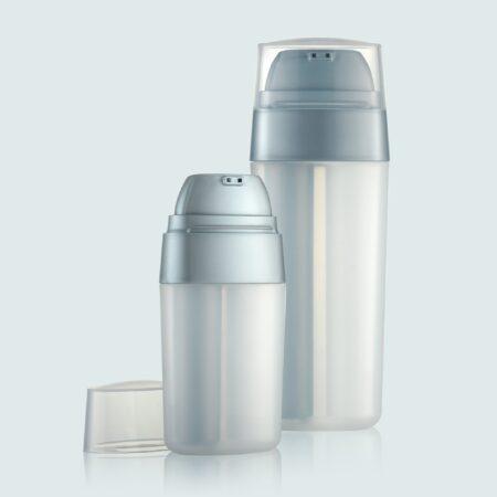 Airless Pump Bottle Grey Set PW-201203AB