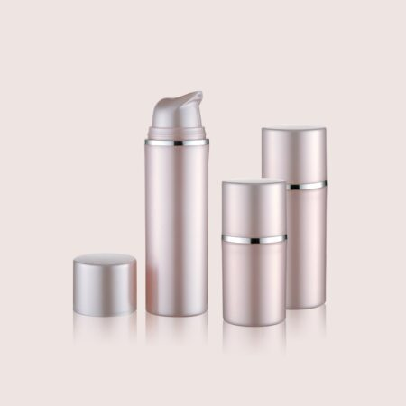 Airless Pump Bottle Pink Set PW-206206A