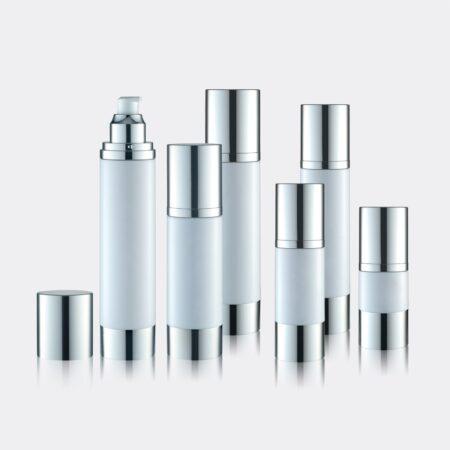 Airless Pump Bottle Silver Set PW-202202C