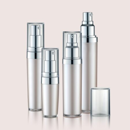 Airless Pump Bottle Silver Set PW-202206A