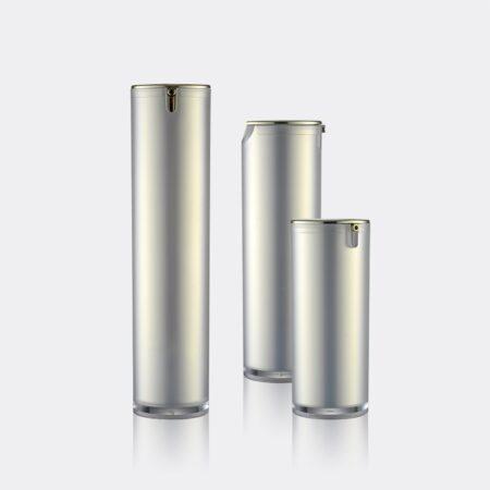 Airless Pump Bottle Silver Set PW-202212A