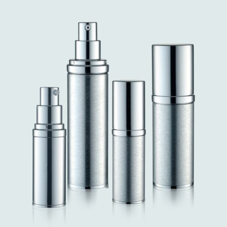 Airless Pump Bottle Silver Set PW-202234AB