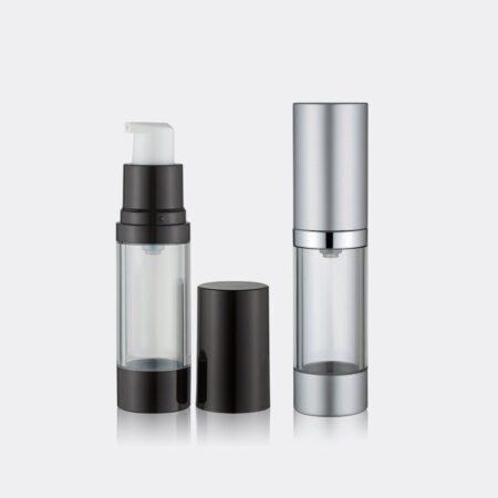 Airless Pump Bottle Transparent Set PW-202215AB